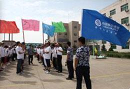 中国移动公司参加甘肃拓展培训